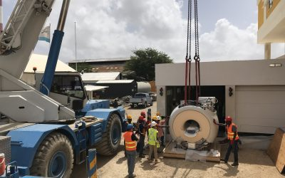 Artikel MRI installatie in Curacao Medical Center