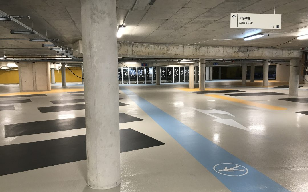 Parkeergarage onder Curaçao Medical Center nadert voltooiing