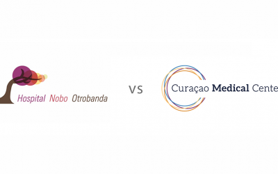 What is the difference between Hospital Nobo Otrobanda and Curaçao Medical Center?
